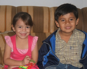 Cousins Angie and DaRonn