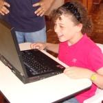 ... a laptop!